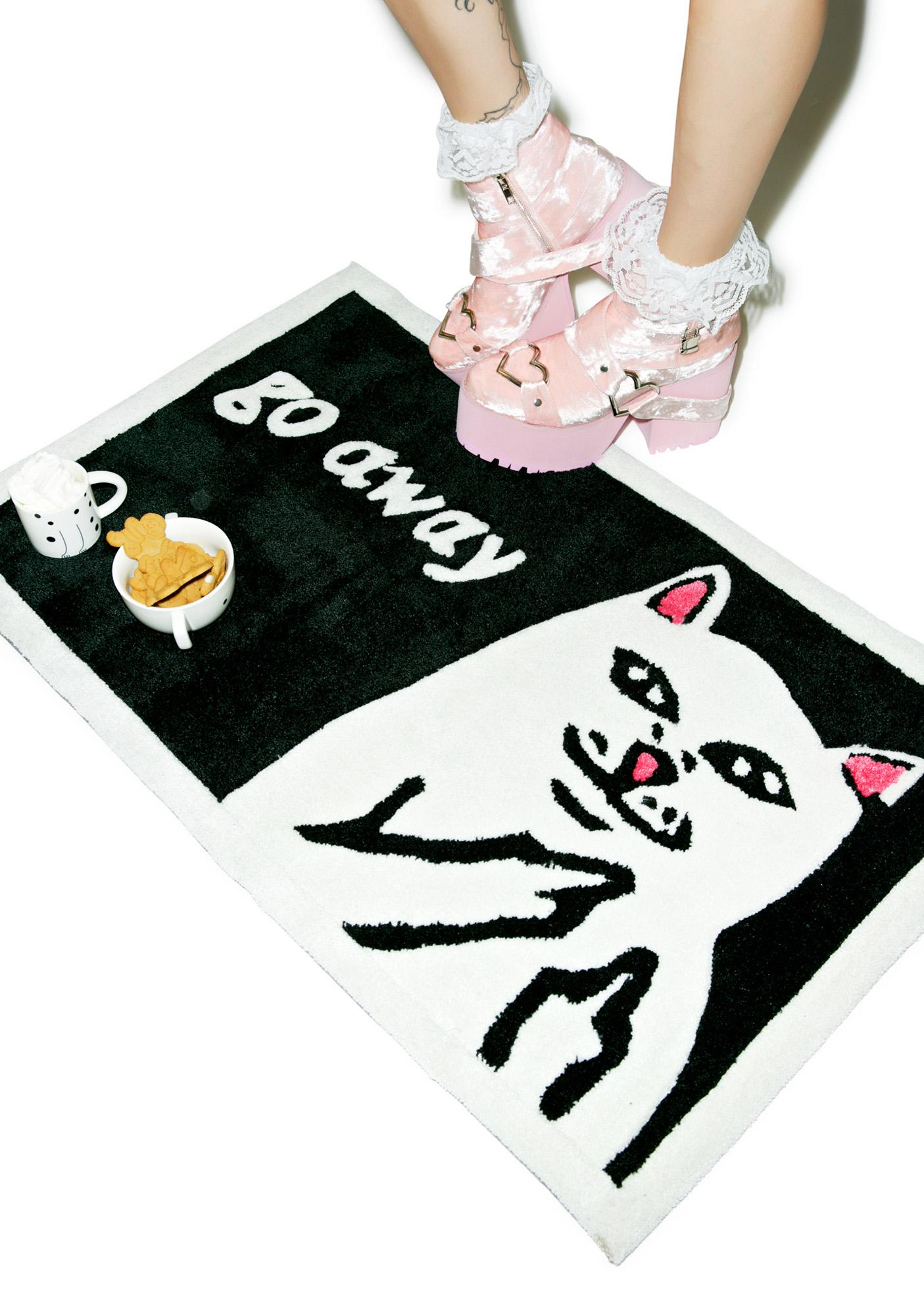 RIPNDIP Go Away Rug