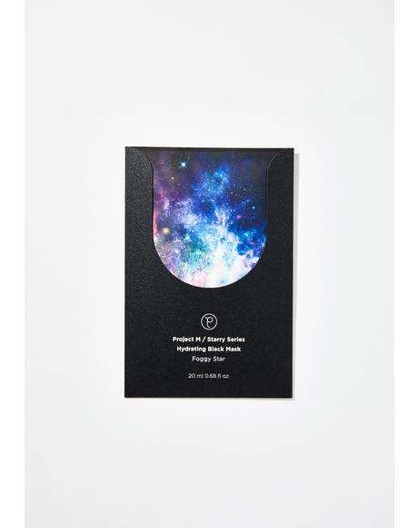 Interstellar Indigo Starry Face Mask