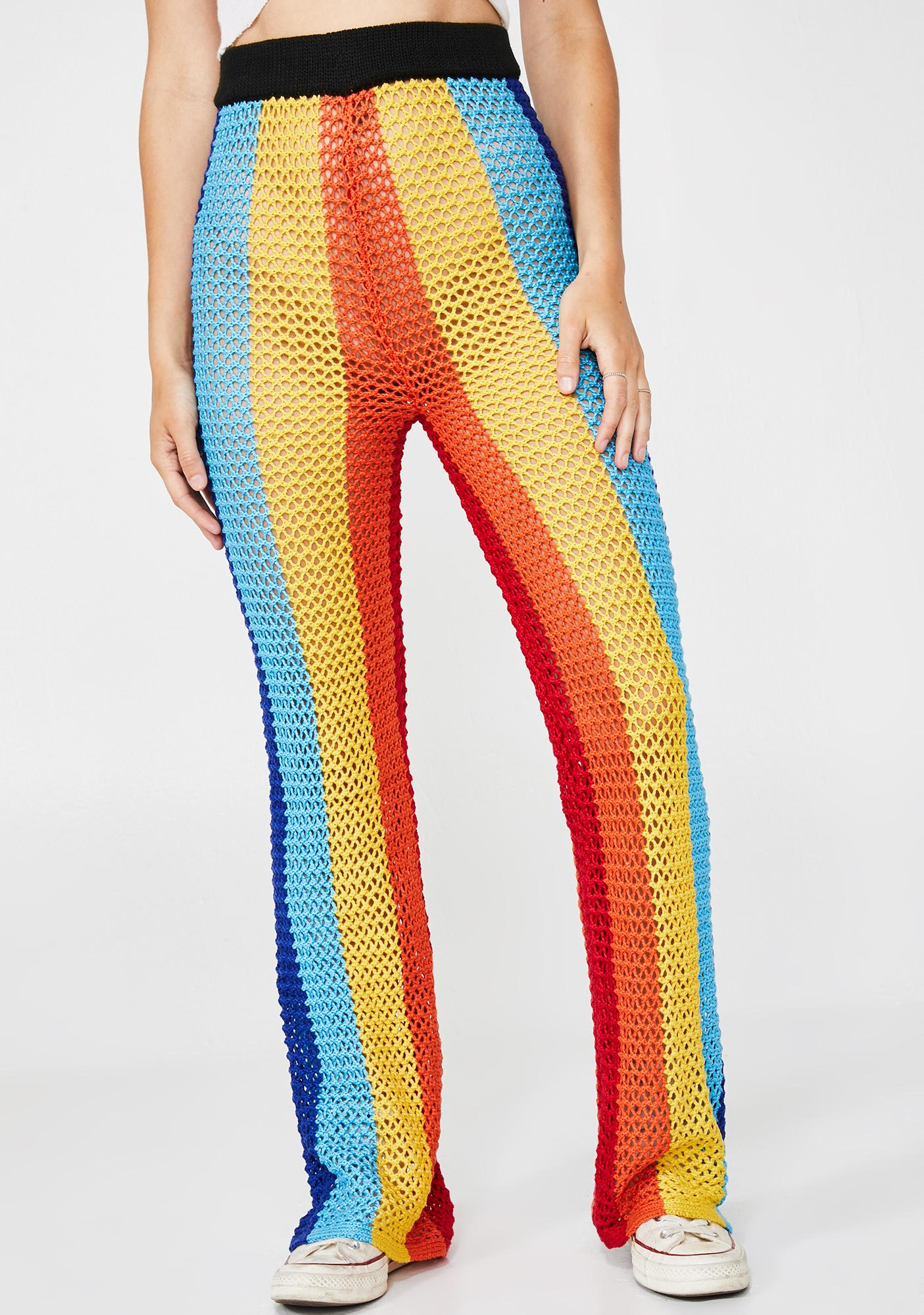 Happy Days Crochet Pants
