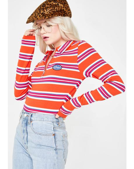 Lazy Stripe Bodysuit