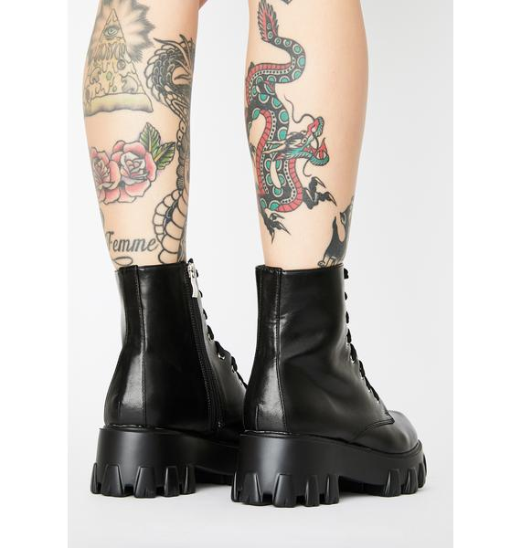 Outta Ammo Combat Boots