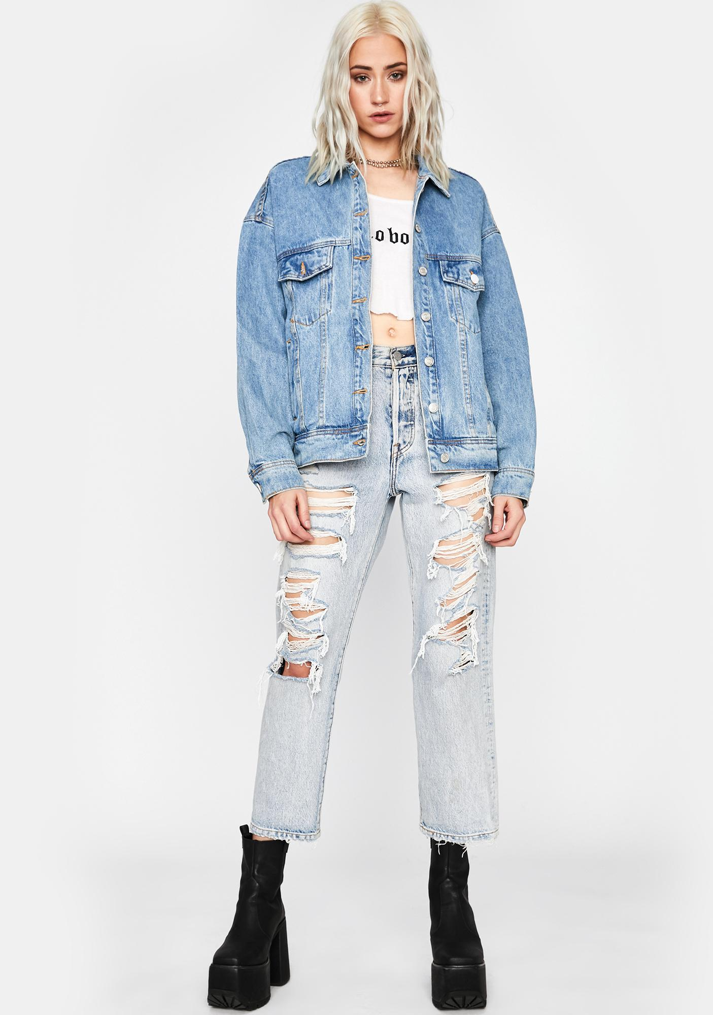 Unfiltered Antics Denim Jacket