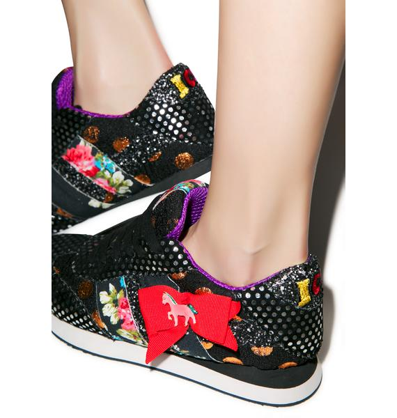 Irregular Choice Fozzie Fun Sneakers