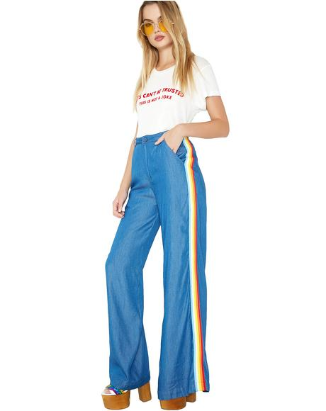 Summer Of Luv Denim Pants