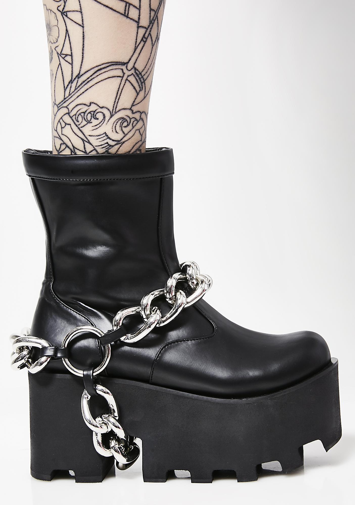 Charla Tedrick G-Train Boots