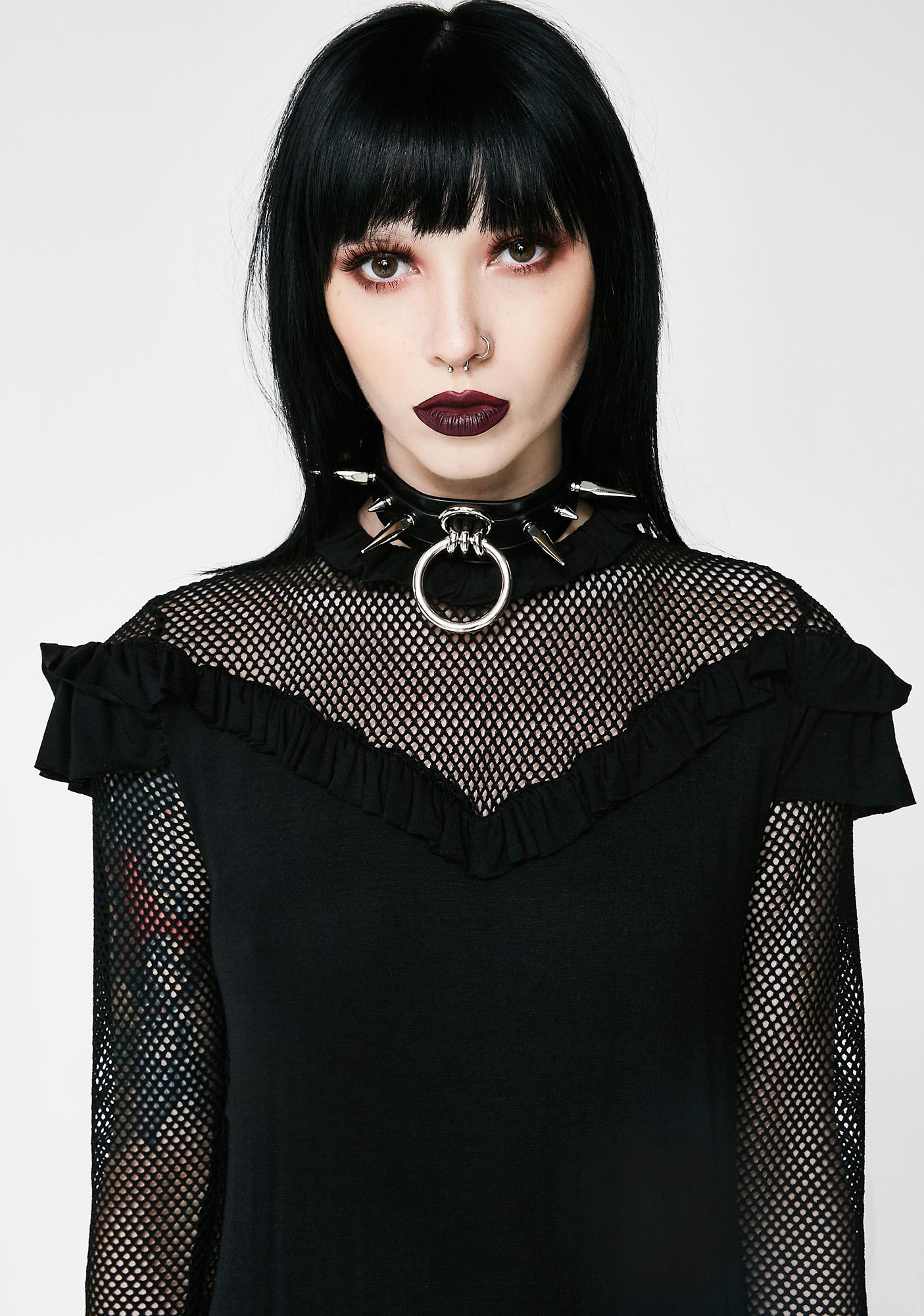 Disturbia Mesh Dress