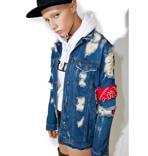 Rough Edges Denim Jacket
