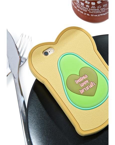 Babes Love Brunch iPhone 6 Case