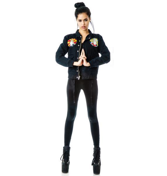 UNIF Like A Prayer Bomber Jacket