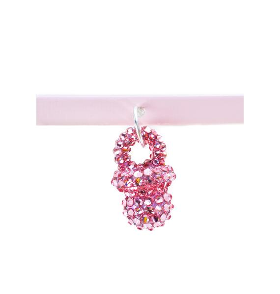 The Candy Kids X Rad and Refined Mini Bling Binky Choker
