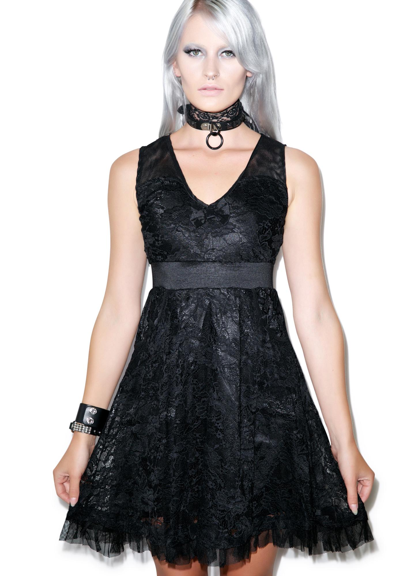 Sourpuss Clothing Tear Up The Town Dress