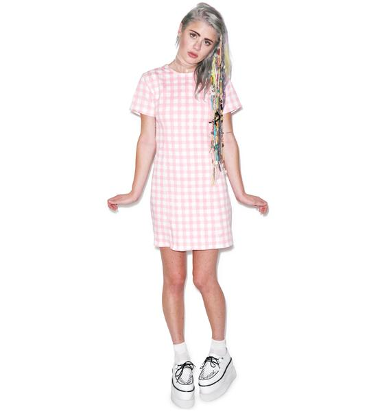 Motel Alby Short Sleeve Dress