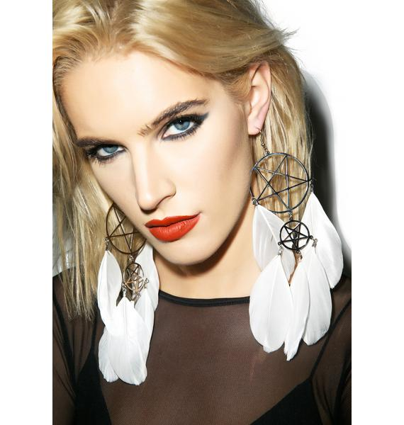 Killstar Dreamcatcher Earrings