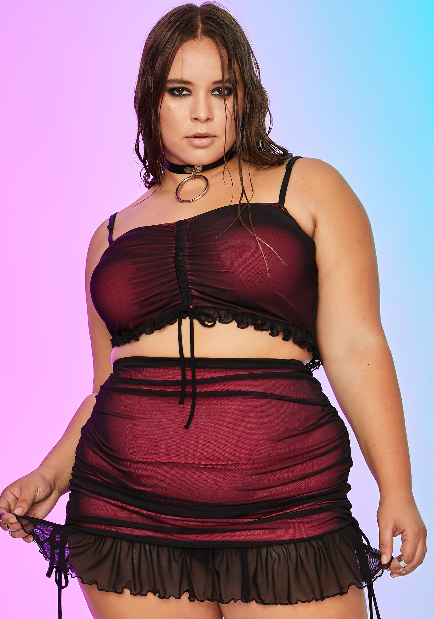 Current Mood Her Vulgar Vice Mesh Set