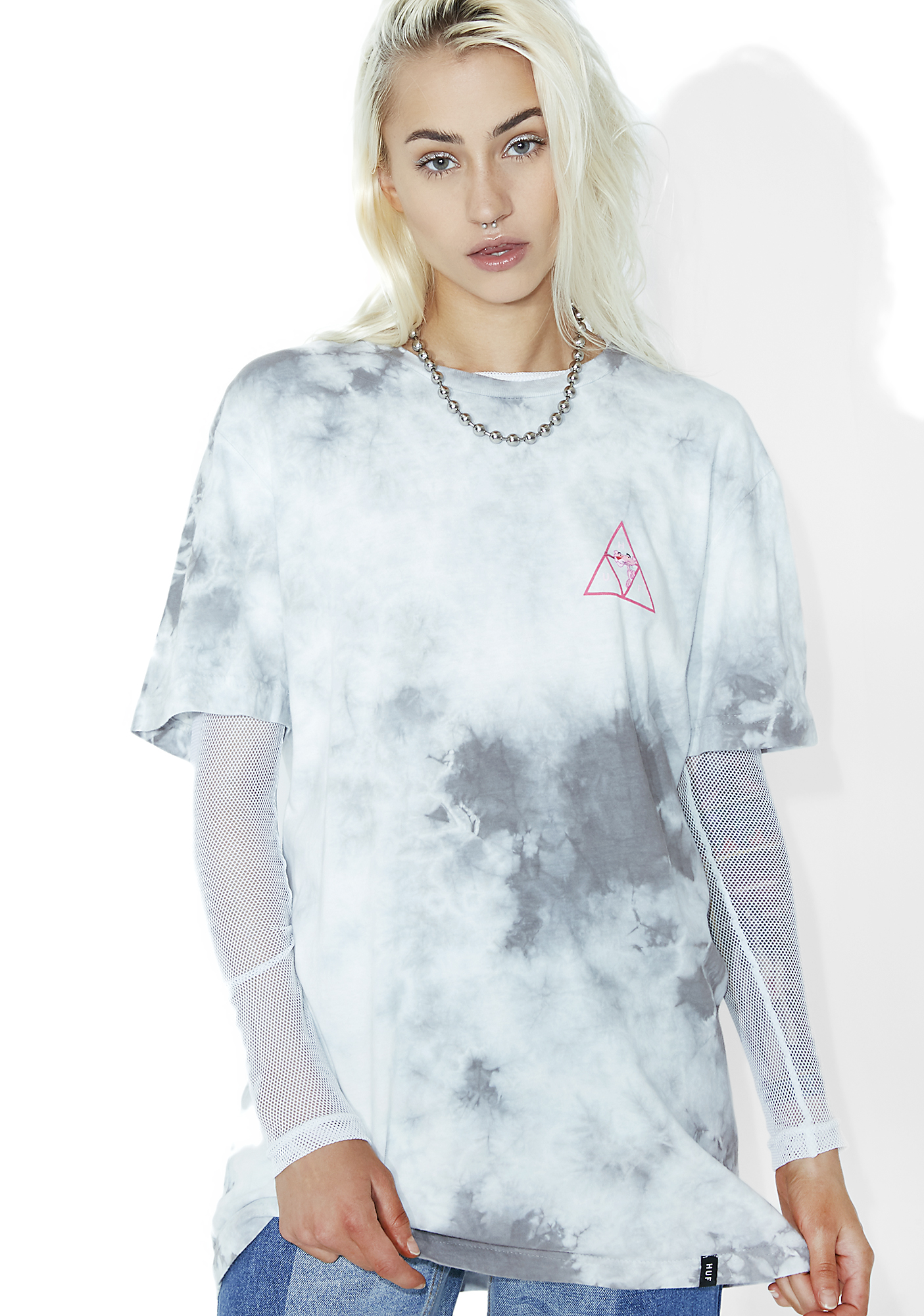 HUF x Pink Panther Triple Triangle Short Sleeve Tee