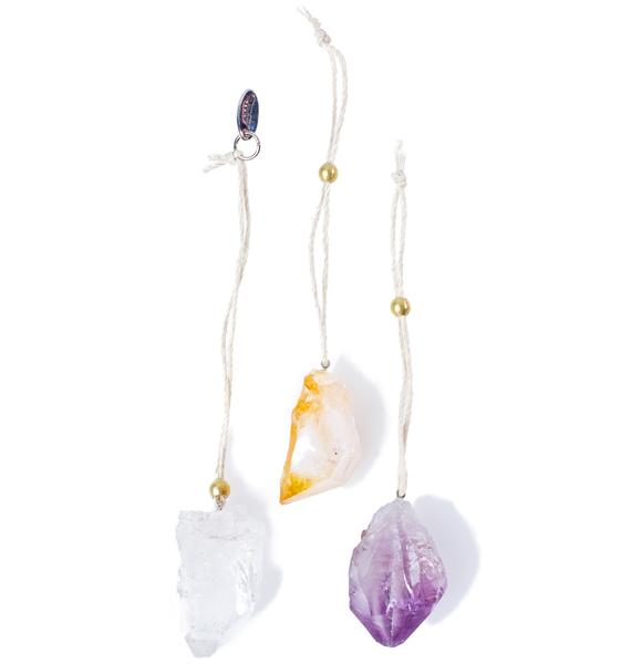 Soul Makes Sanctuary Crystal Ornament Set