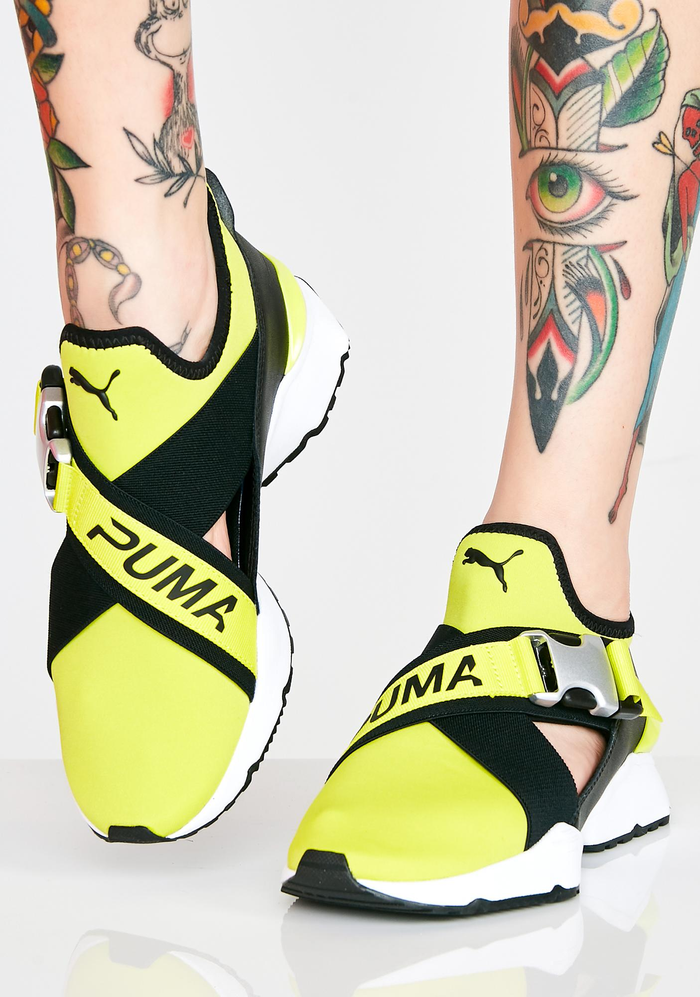 ecfdcfc669e PUMA Sulphur Spring Muse Cut-Out Sneakers
