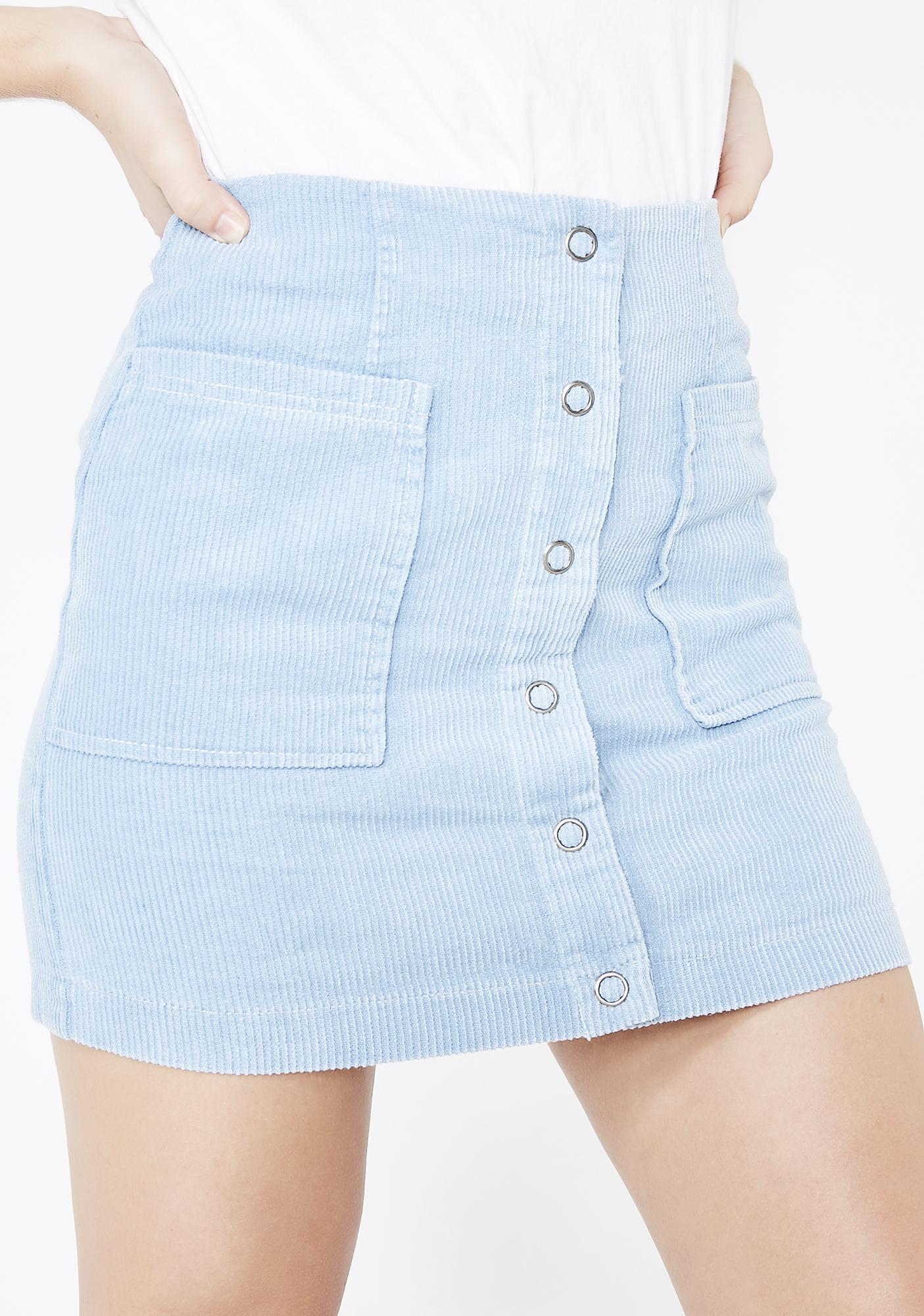 58156ae8a94c Honey Punch Sweet Enough Corduroy Skirt