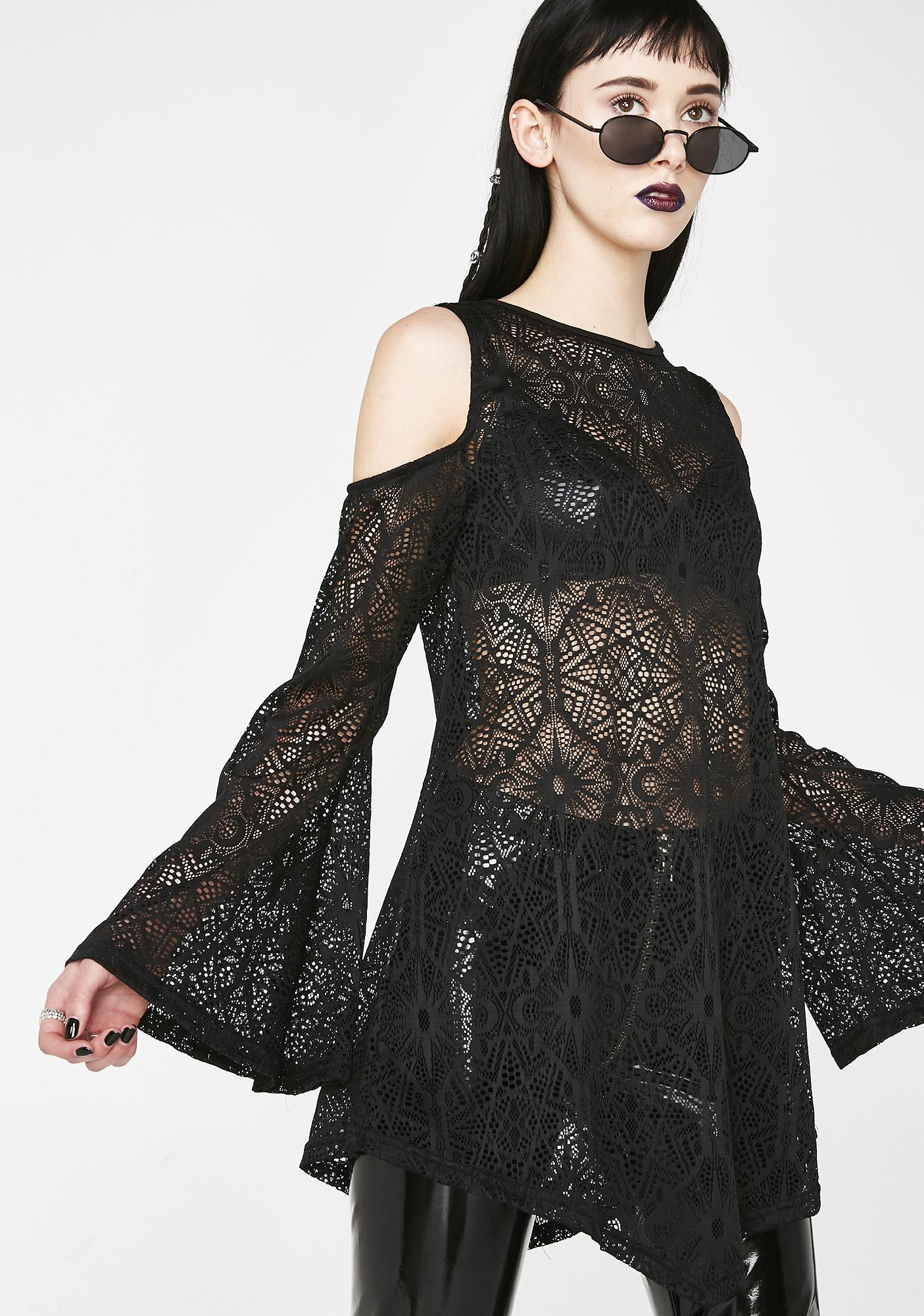 Killstar Gia Lace Tunic