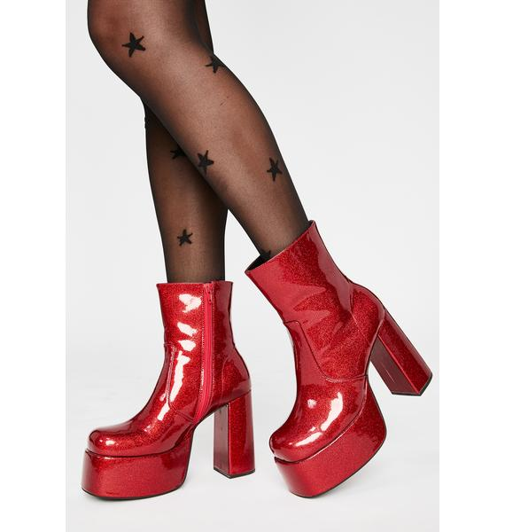 HOROSCOPEZ Haute Tempered Ankle Boots