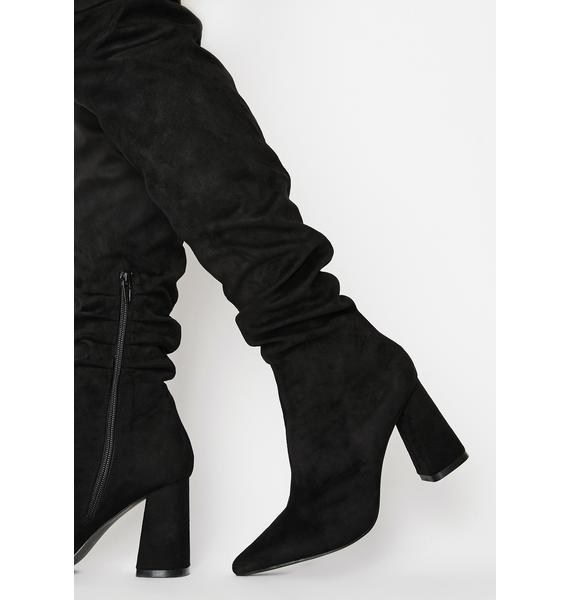 Public Desire Zora Over The Knee Boots