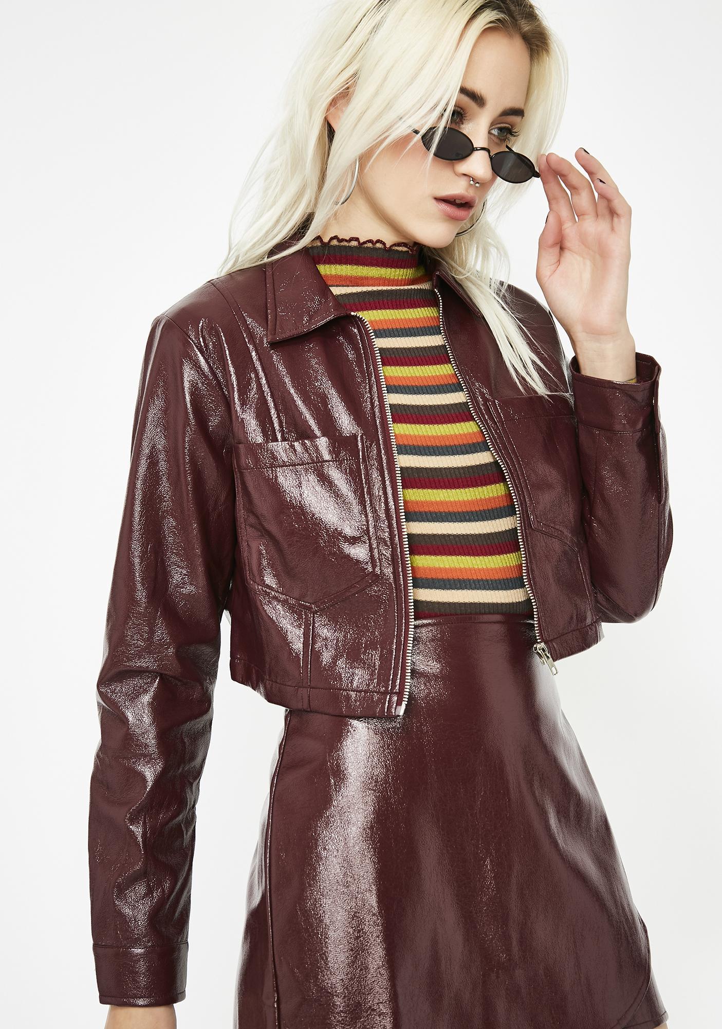 Baddie Company Vinyl Jacket