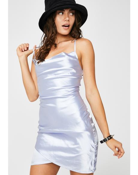 Angel Street Satin Dress