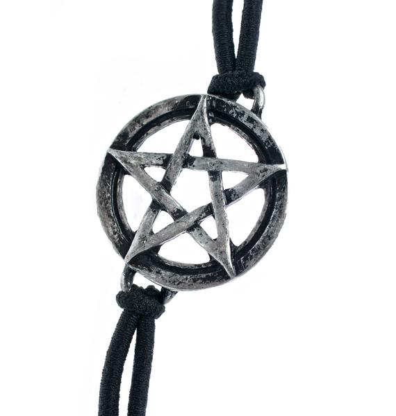 Nefarious Pentagram Choker