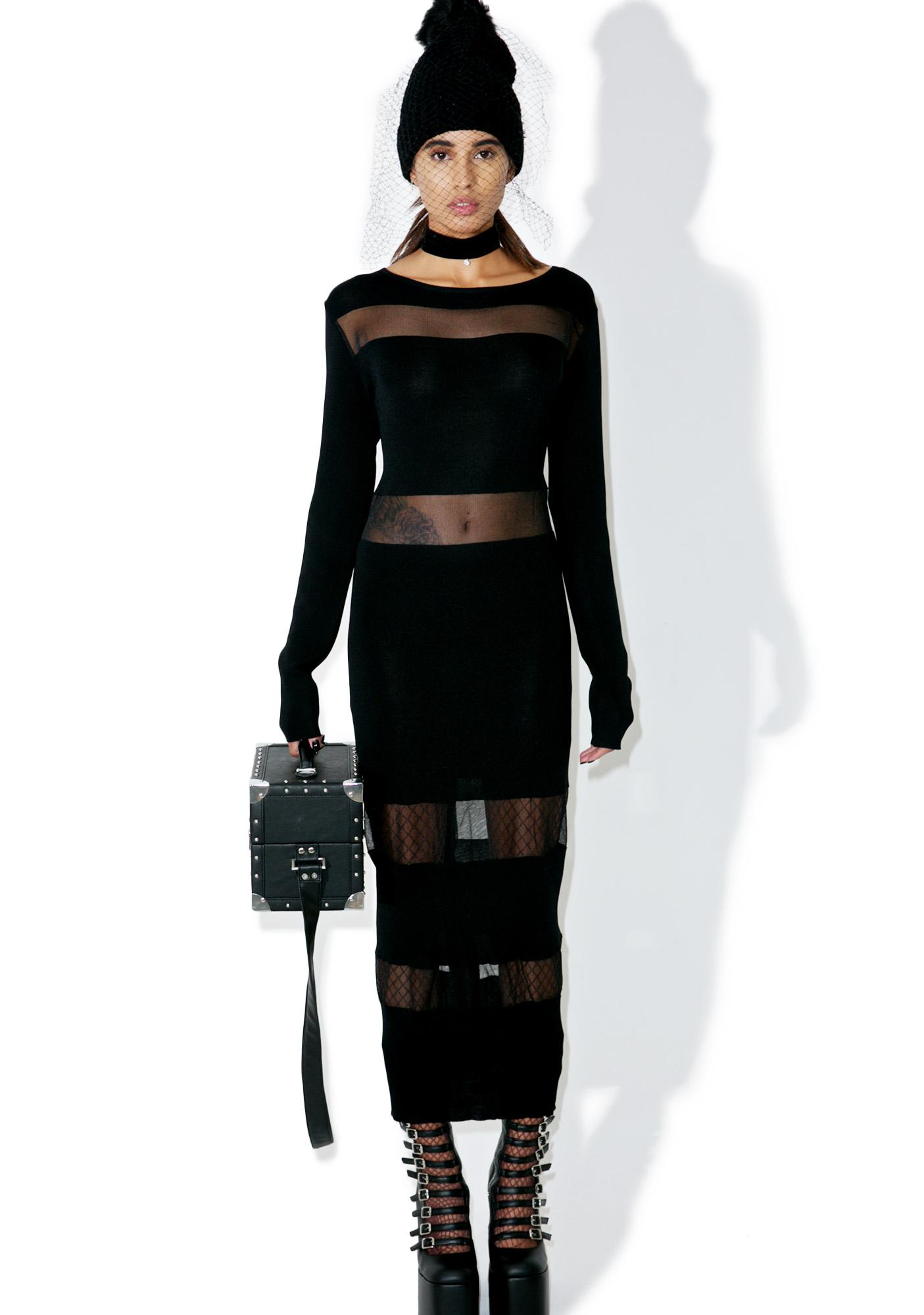 Glamorous Afterlife Cut-Out Maxi