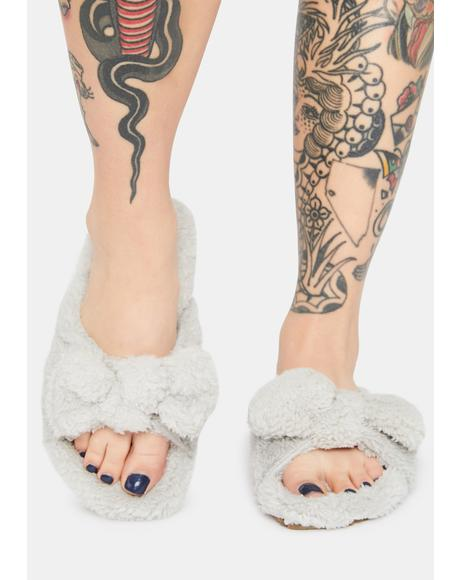Storm Cloud Hopper Slipper Sandals