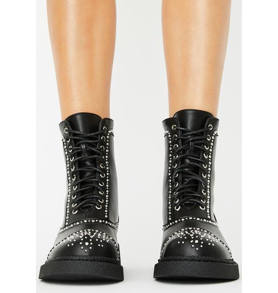 Lamoda Thunderbolt Ankle Boots
