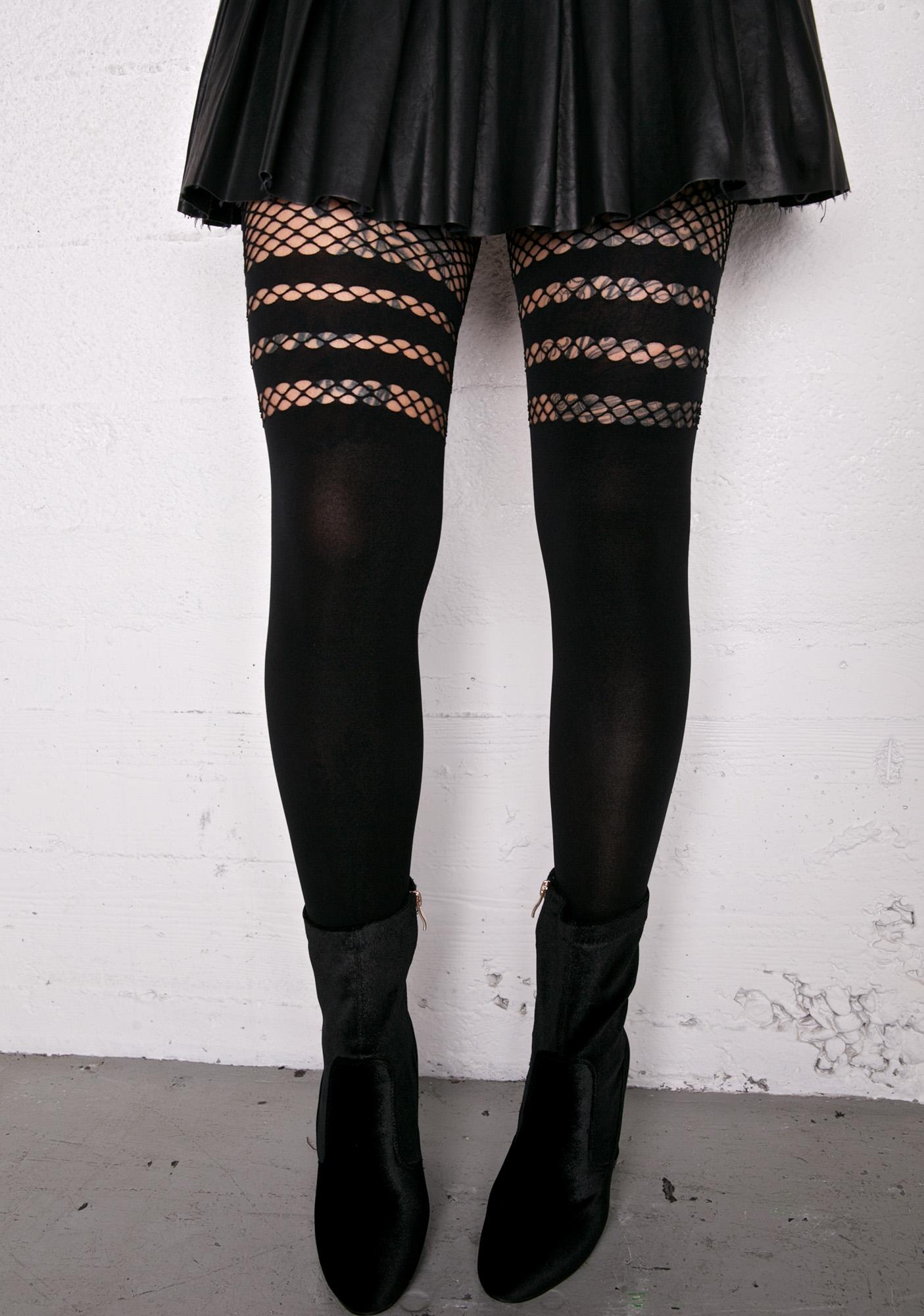 nn thigh high stockings