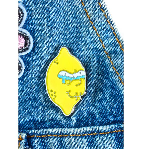Krystan Saint Cat Lemon Of Troy Pin