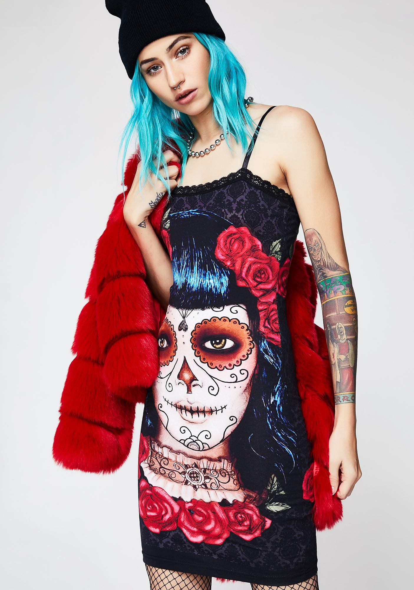 Deadly Dame Cami Dress