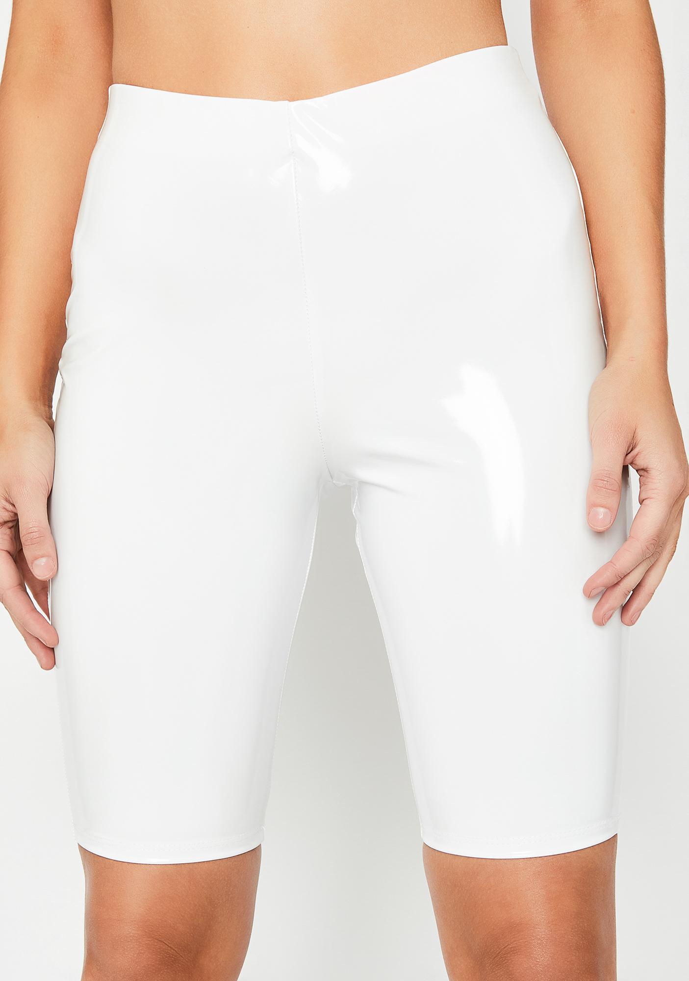 Icy Savage Rampage PVC Shorts