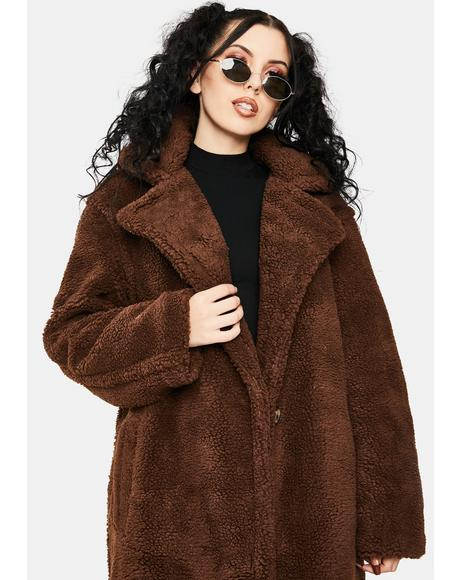 Paddington Faux Fur Coat