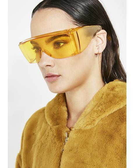 Rad Scientist Shield Sunglasses
