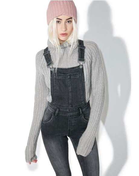 Past Skinny Dungarees