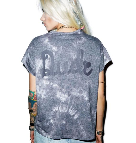 Somedays Lovin Unholey Tie Dye Dude Tee
