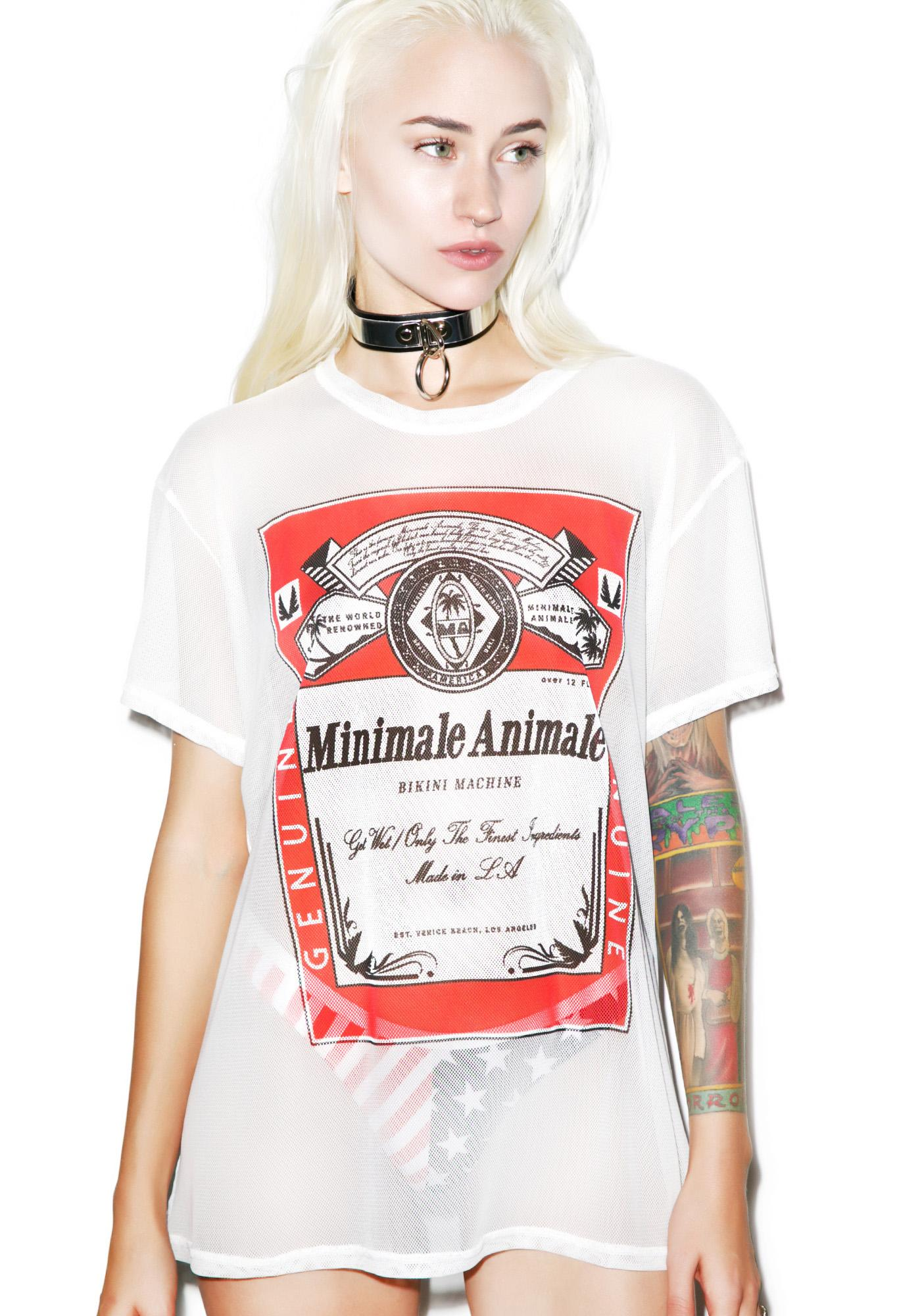 Minimale Animale The Weiser Tee