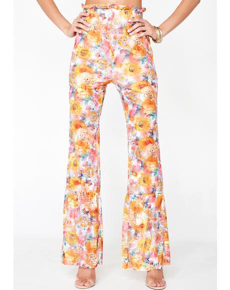 Hella Spicy Burnout Pants
