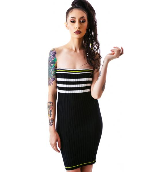 The Slain Sweater Midi Dress