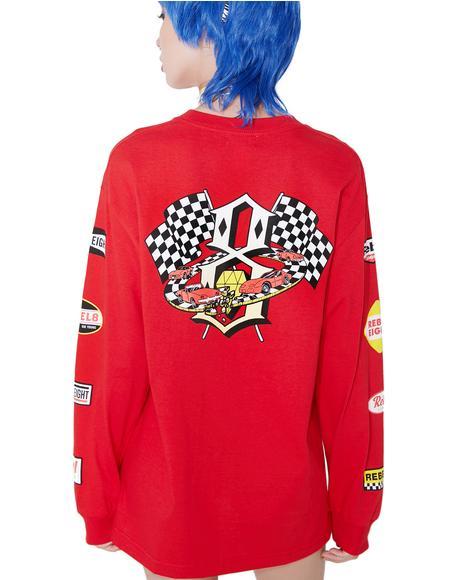Speedway ll Long Sleeve Tee