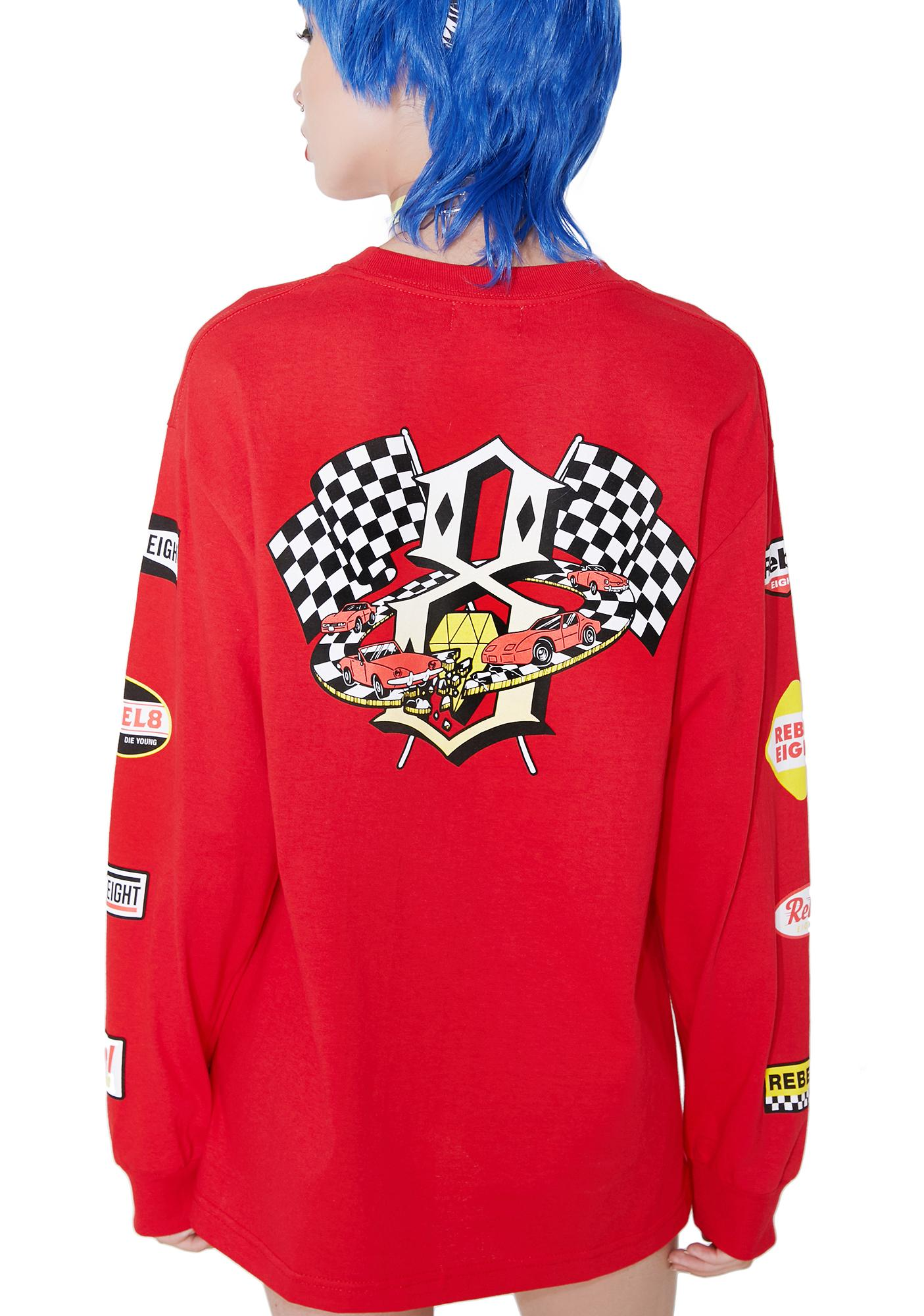 Rebel8 Speedway ll Long Sleeve Tee