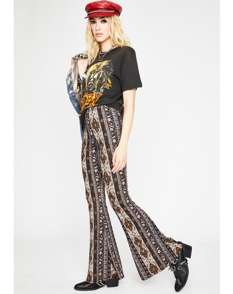 Kaleidoscope Dreams Flare Pants