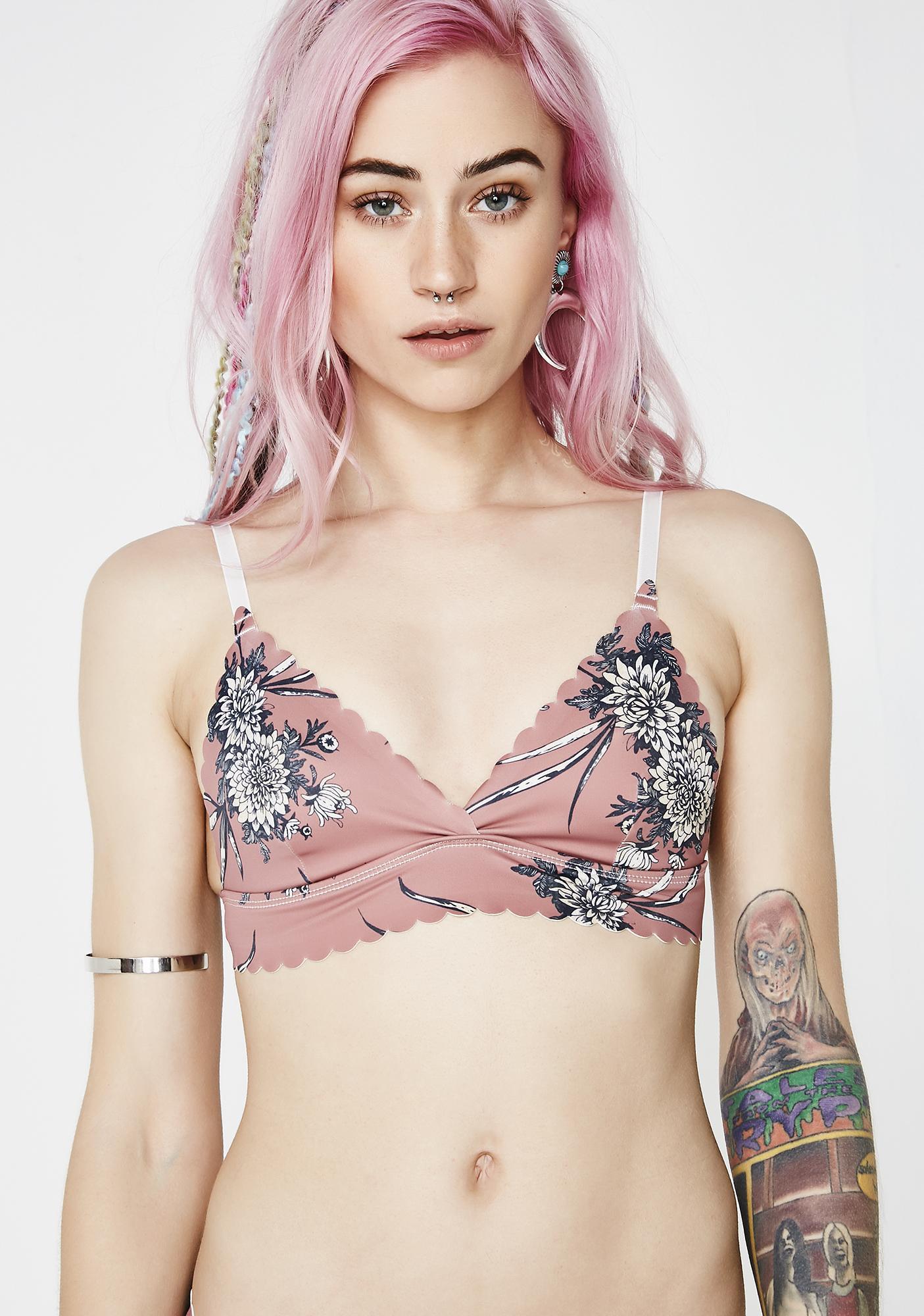 Lira Clothing Juniper Seamless Bikini Top
