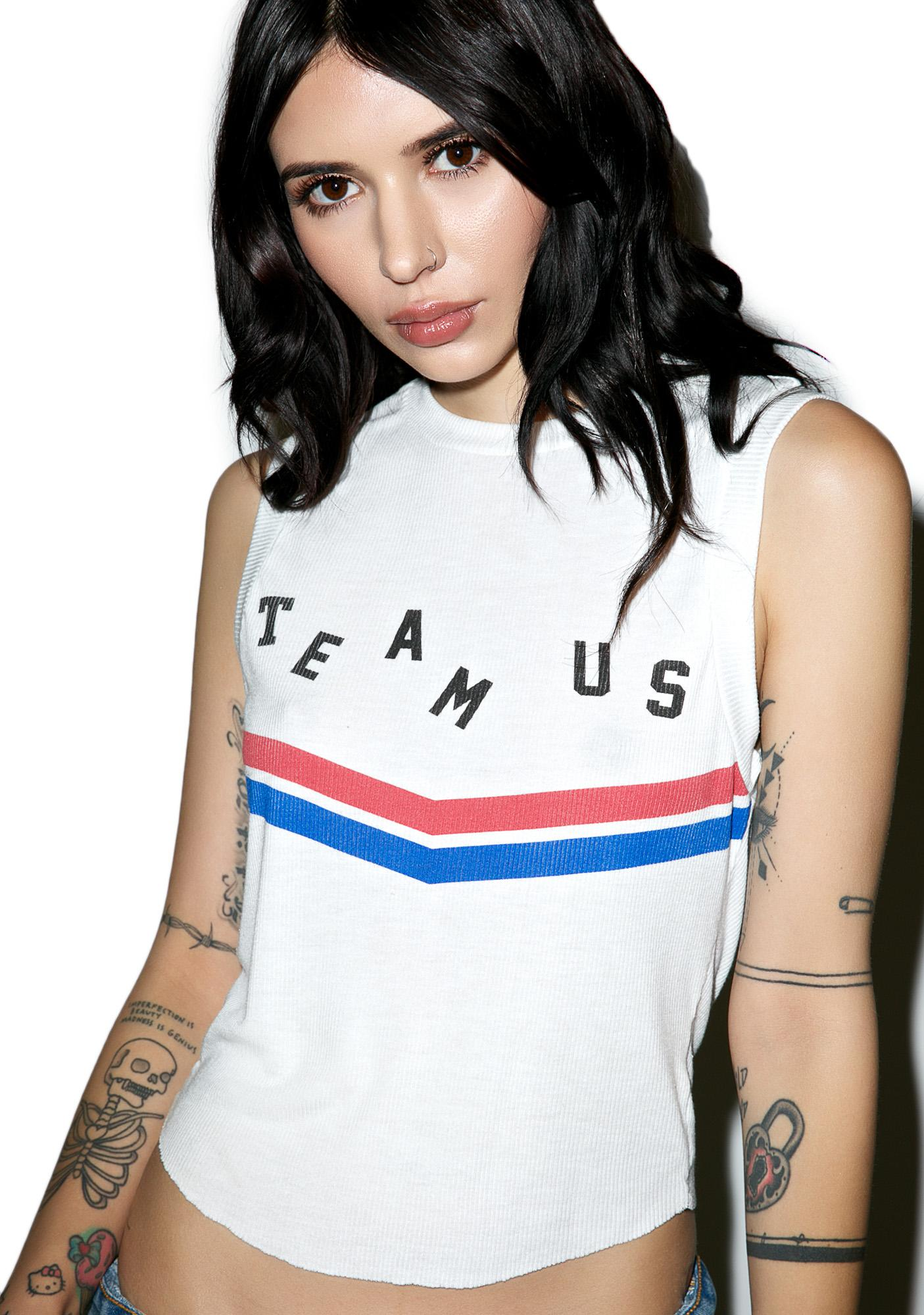 Wildfox Couture Team Us Tank
