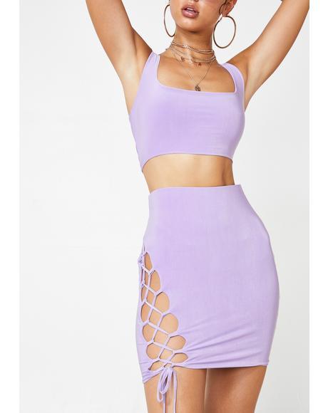 Catch Me Clubbin' Skirt Set