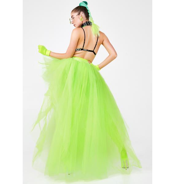Kiki Riki Slime Titania Trance Tulle Skirt