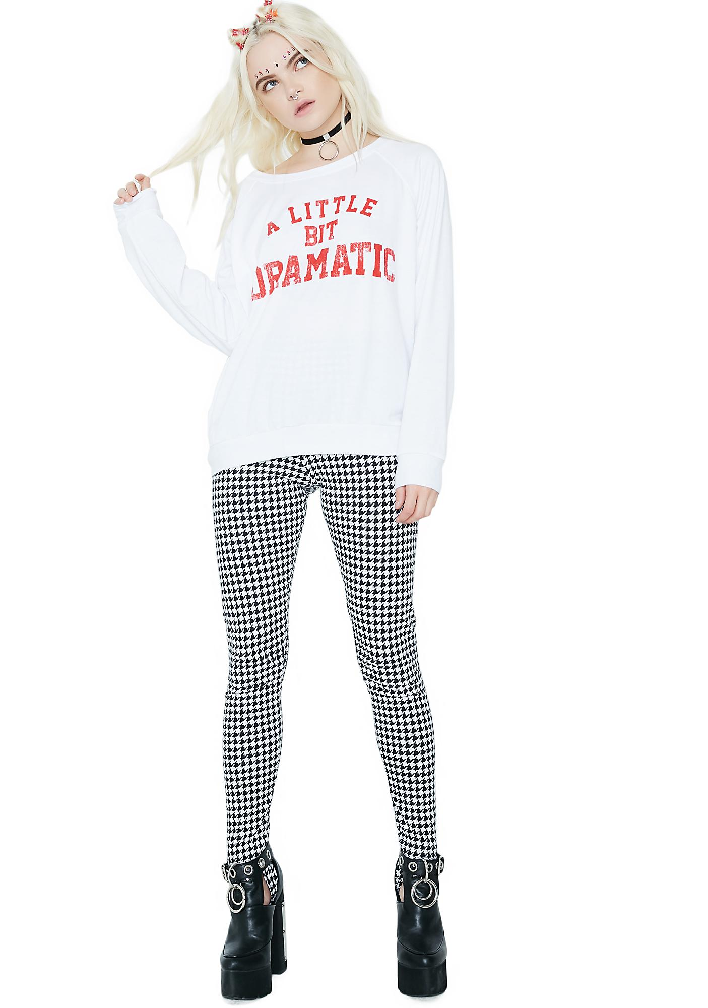 A Lil' Dramatic Graphic Pullover